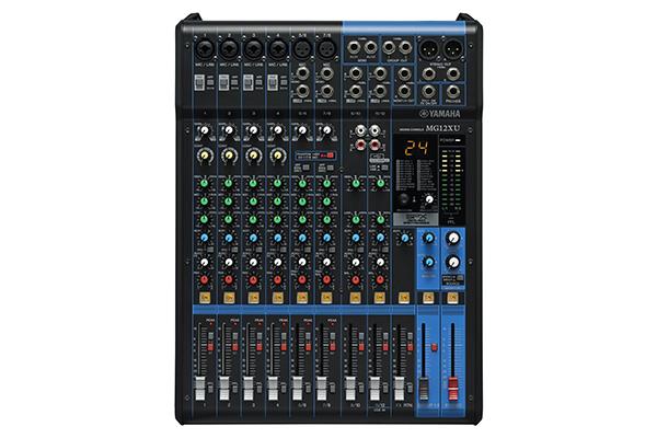 danh-gia-dong-mixer-analog-yamaha-mg12xu-hien-dai