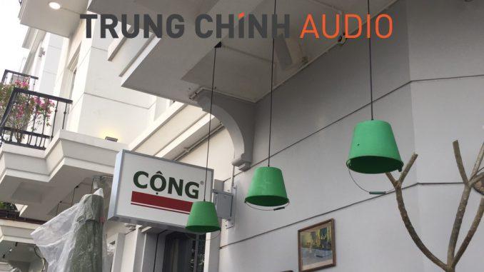 âm thanh quán cộng cafe