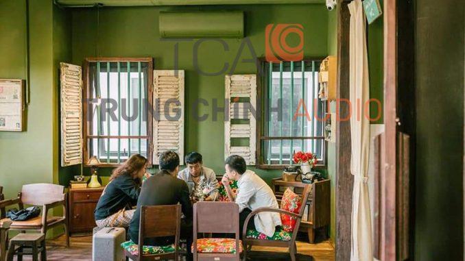bảo trì âm thanh quán cafe